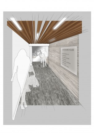Entrance Corridor - Option A