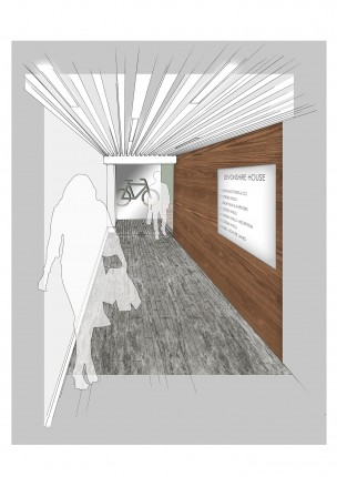 Entrance Corridor - Option B